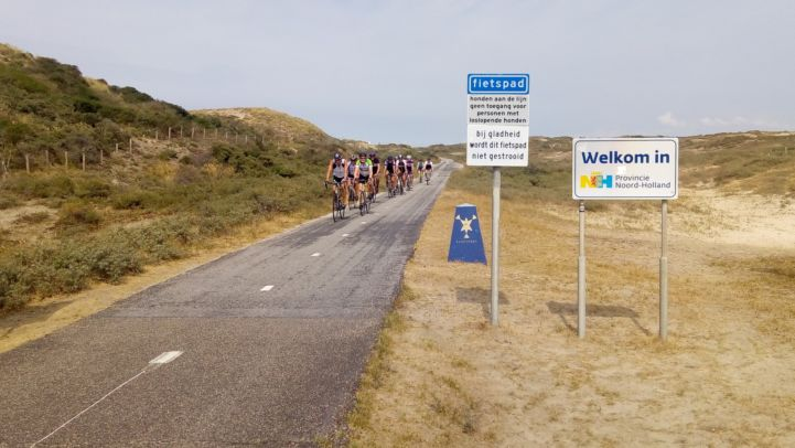 The entire Dutch section of the EuroVelo 12 - North Sea Route is well developed.