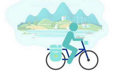Time to reimagine the way we travel. We stand for #MoreCyclingTourism